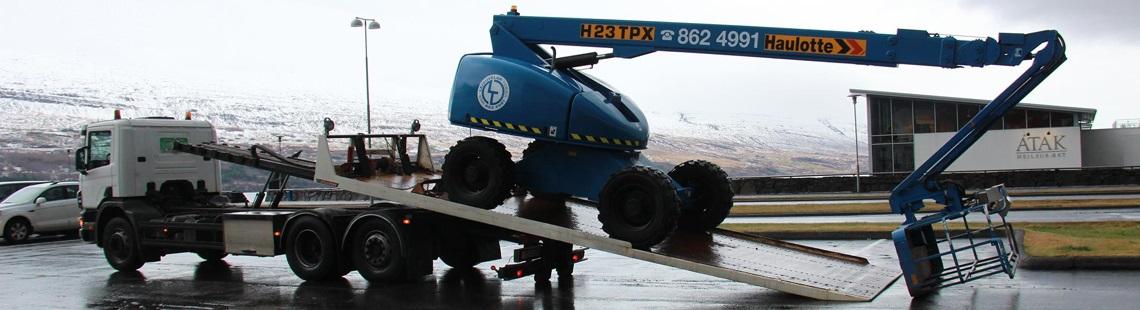 Mynd af Leiguvélar Norðurlands