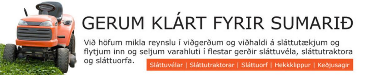 JS ljósasmiðjan ehf - Sláttuvélamarkaðurinn