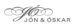 Lógo af Jón og Óskar