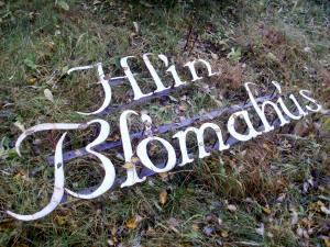 Lógo af Blómabúðin Hlín blómahús