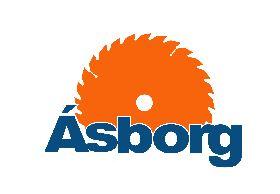 Lógo af Ásborg slf
