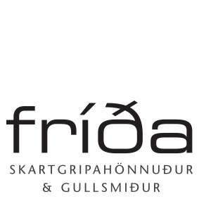 Lógo af Fríða Skartgripahönnuður Gullsmiður