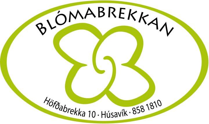 Lógo af Blómabrekkan