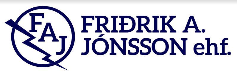 Lógo af Friðrik A. Jónsson ehf