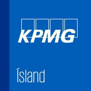 Lógo af KPMG ehf