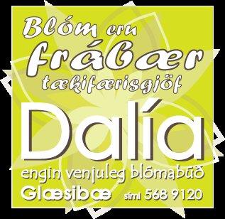 Lógo af Blómaverslunin Dalía ehf