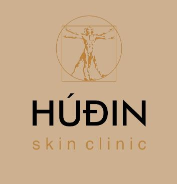 Lógo af HÚÐIN skin clinic