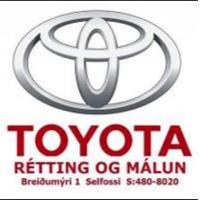 Lógo af Toyota, Rétting og málun ehf
